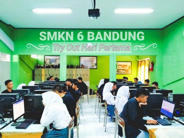 Try Out bersama SMK Kota Bandung, KCD 7 di SMK Negeri 6 Bandung