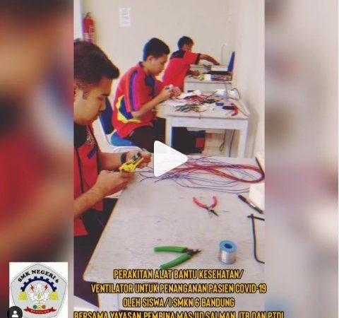 Perakitan Alat Bantu Kesehatan oleh Siswa SMKN 6 Bandung