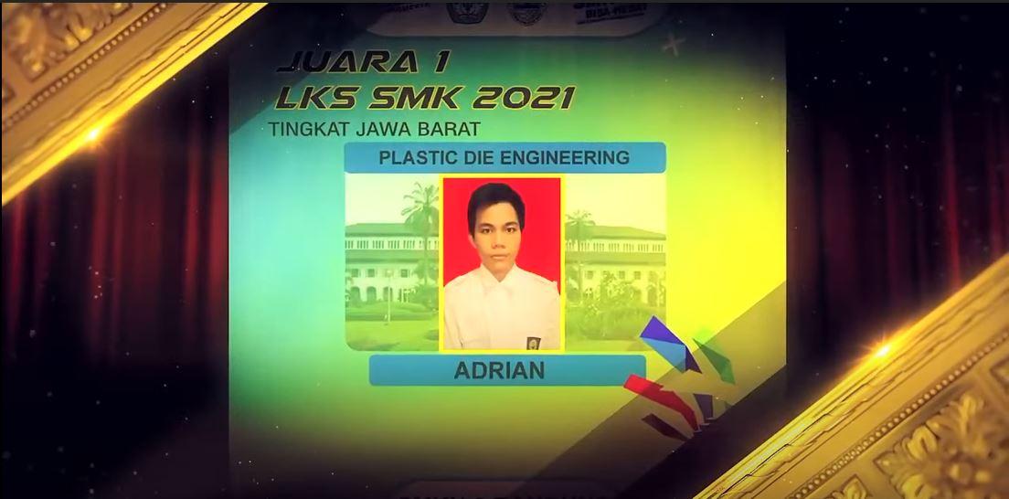 SMKN 6 Bandung Juara LKS Tingkat Provinsi Jawa Barat Bidang Lomba Plastic Die Engineering