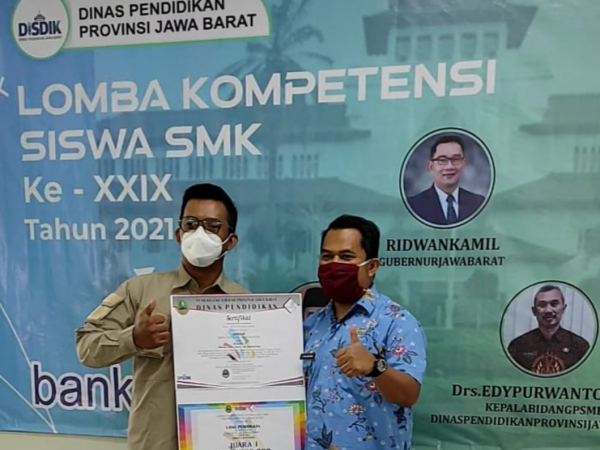 Penutupan LKS SMK 2021. Selamat kepada para juara yang mewakili Jawa Barat di Tingkat Nasional
