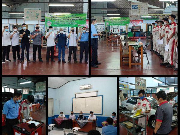 Uji Kompetensi Keahlian (UKK) SMKN 6 Bandung Tp 2020/2021